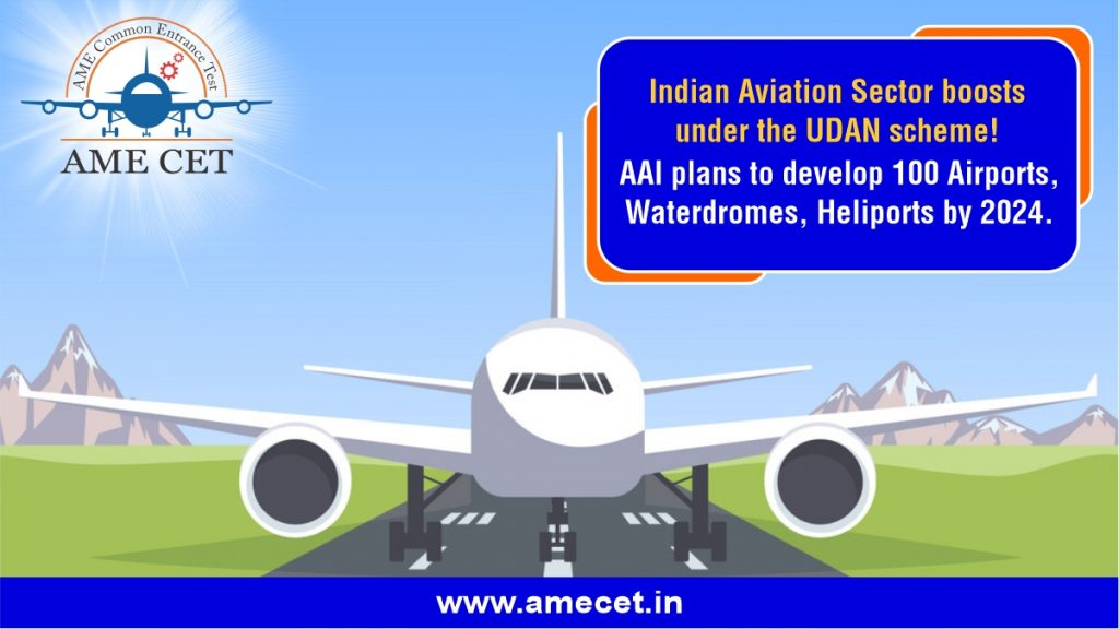 Indian Aviation Sector boosts under the UDAN scheme
