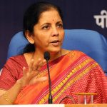 The Minister of Finance Smt. Nirmala Sitharaman