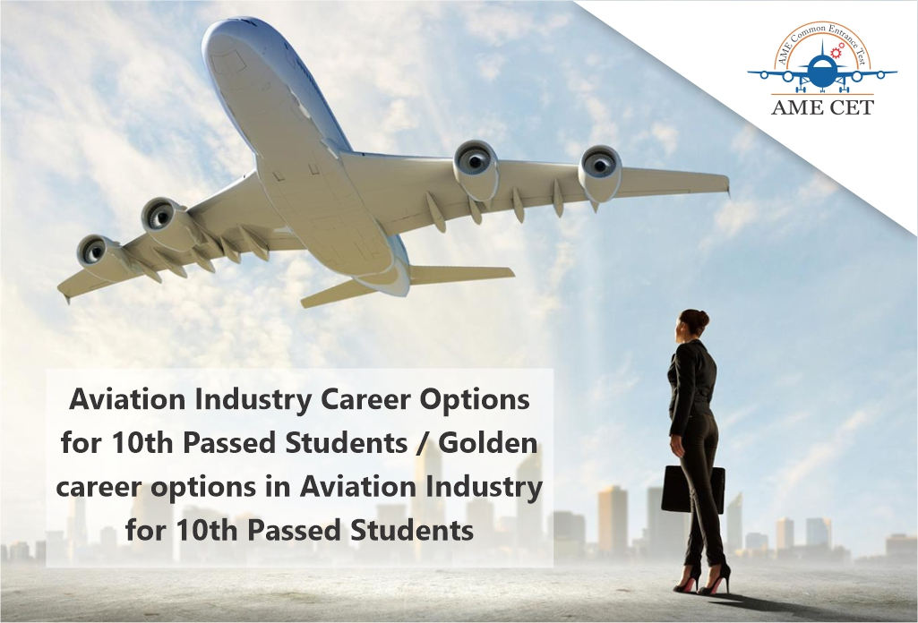 career options in aviation industry after 10th class