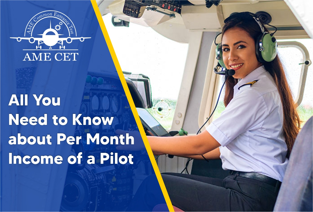 How Much Pilot Get Paid Per Month