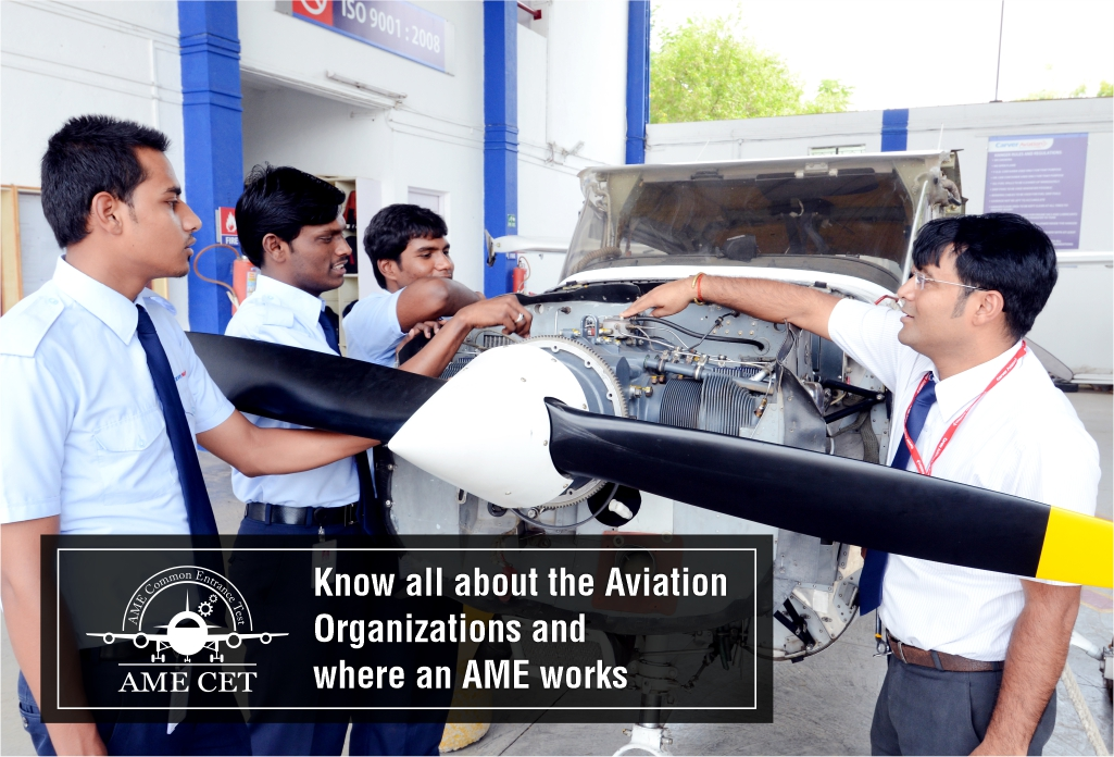 Know all about the Aviation Organizations and where an AME works