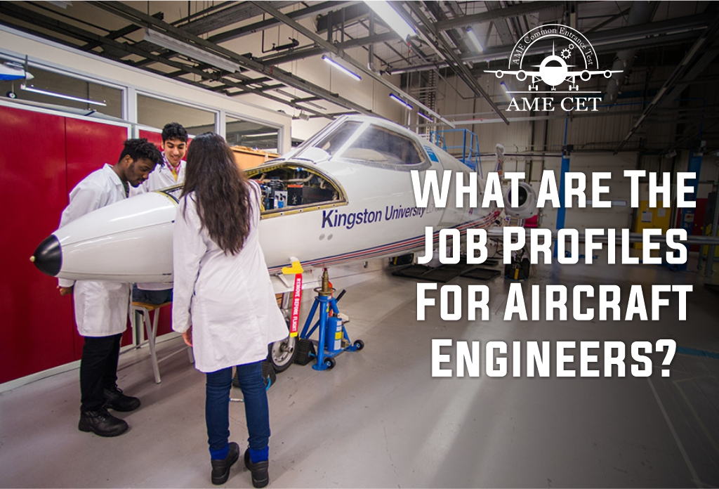 the Job Profiles for the Aircraft Engineers