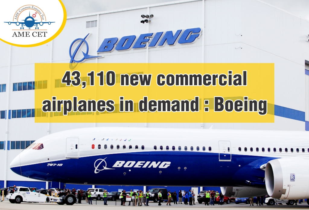 43,110 new commercial airplanes in demand : Boeing
