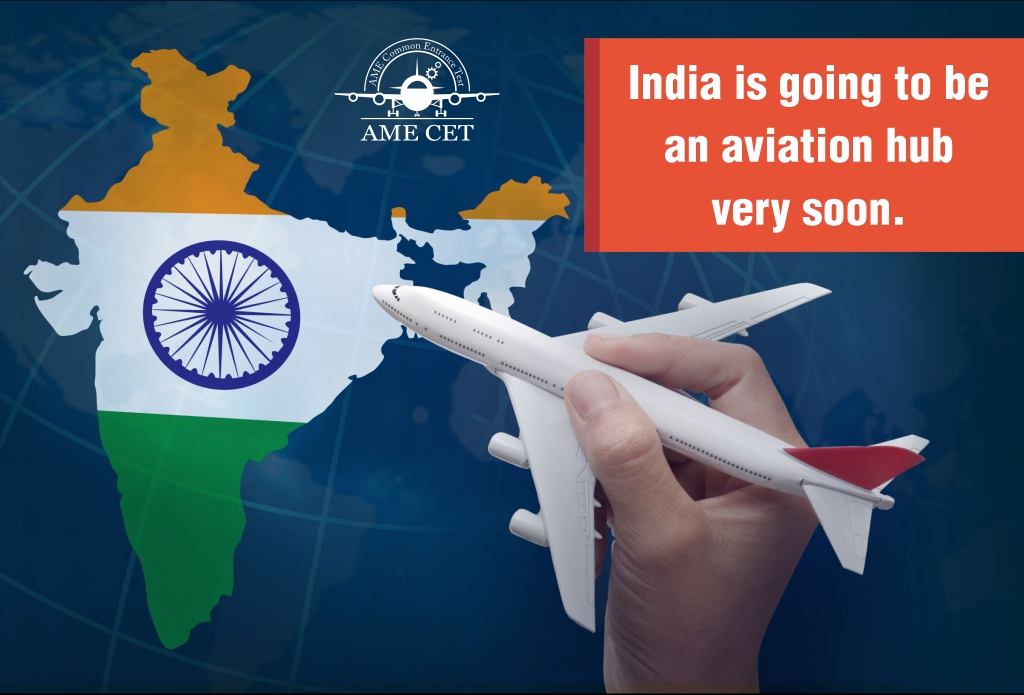 India is going to be an aviation hub very soon