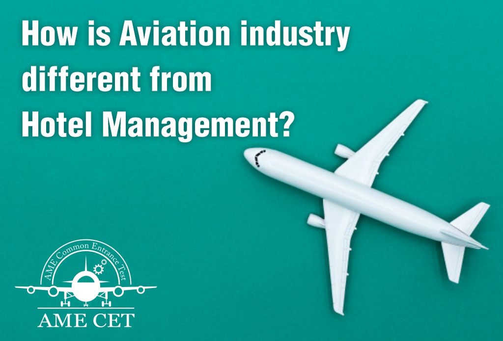 What is the difference between Aviation Industry and Hotel Management