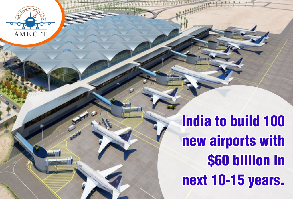 India to build 100 new airports with $60 billion in next 10-15 years