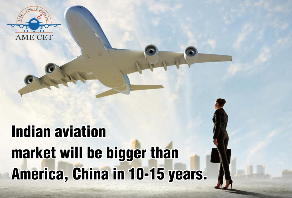 Indian aviation market will be bigger than America, China in 10-15 years