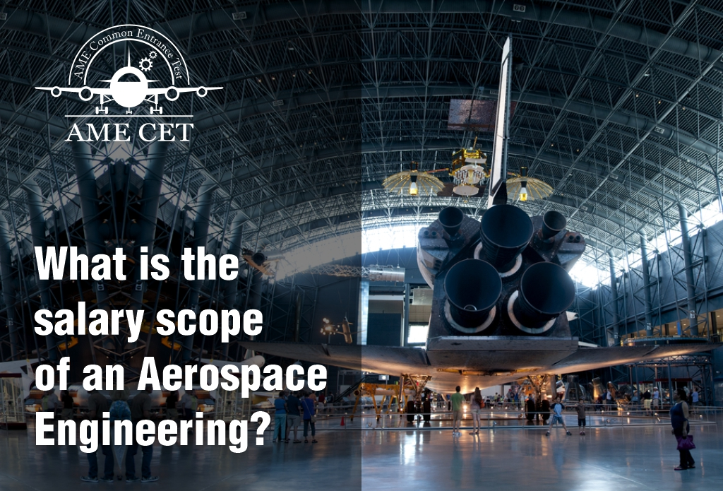 What is the salary scope of an Aerospace Engineer